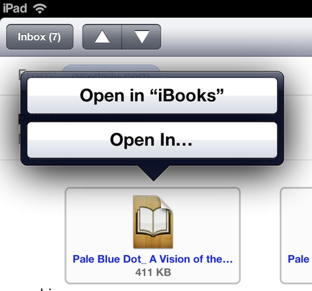 Read ePub and Mobi Files on an iPad
